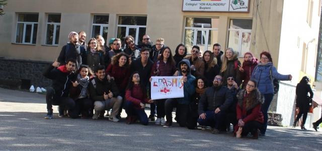 6 Ülke Erasmus+ Projesi ile Romanya'da Buluştu
