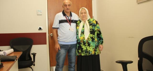 79 Yaşındaki Güngör Nine 11 Yıl Sonra Yeniden Yürüdü