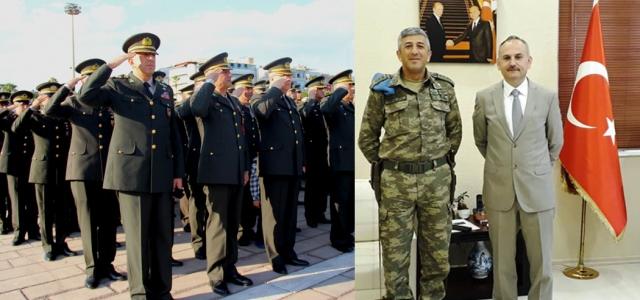8. Komando Tugay Komutanı Albay Akkurt Oldu