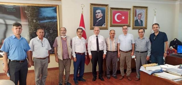 ABADER Yönetiminden Başkan Tosyalı'ya Ziyaret