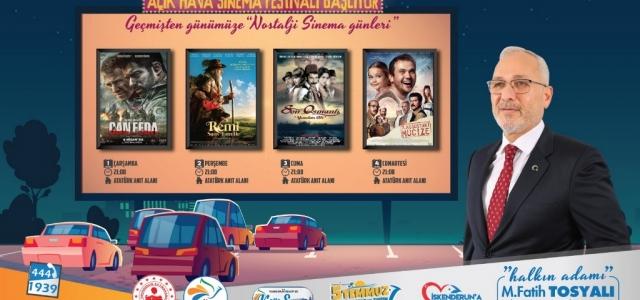 Açık Hava Sinema Festivali Başlıyor