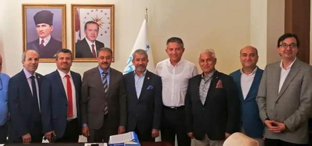AGF Yönetimi Burdur'da Toplandı