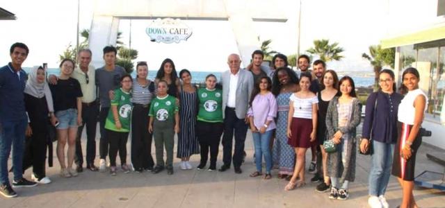 AIESEC Topluluğu Öğrencilerinden Down Cafe'de Güzel Buluşma