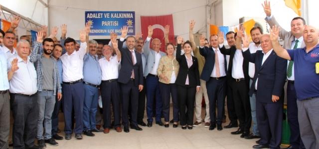 AK Parti İskenderun'da Kenetlendi