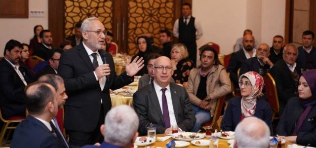 AK Parti'den Birlik ve Beraberlik Kahvaltısı