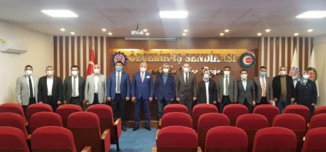 AK Partiden Özçelik-İş Sendikasına Ziyaret