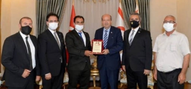 Akil Dost Konseyinden Cumhurbaşkanı Tatar'a Ziyaret