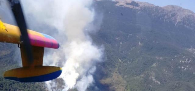 Amanos Dağlarında Orman Yangını