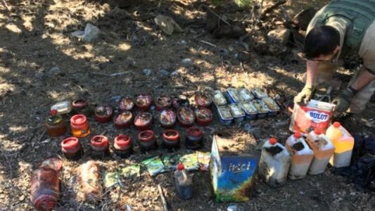 Hatay'da PKK'ya Ait Gıda Depoları Ele Geçirildi