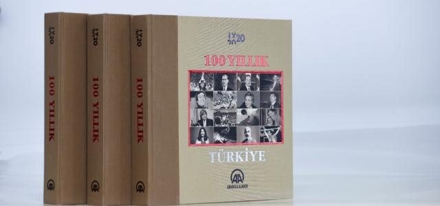 Anadolu Ajansı Türkiye'nin 100 Yılını Kitaplaştırdı