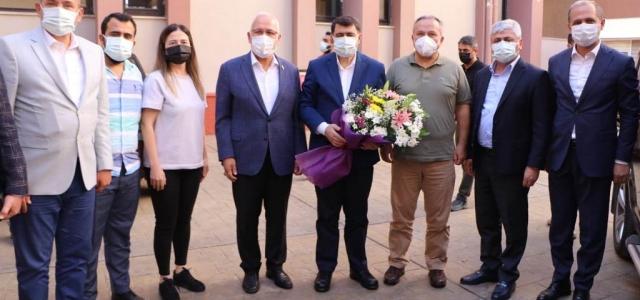 Ankara Valisi Şahin'den Başkan Tosyalı'ya Ziyaret