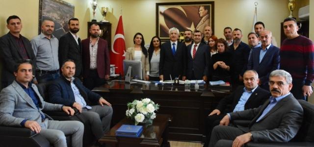 'ARES DER' den Başkan Güven'e Ziyaret