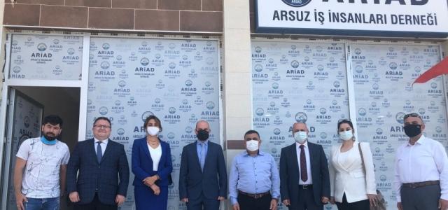 ARİAD, DEVA Partisi Hatay İl Yönetimini Ağırladı