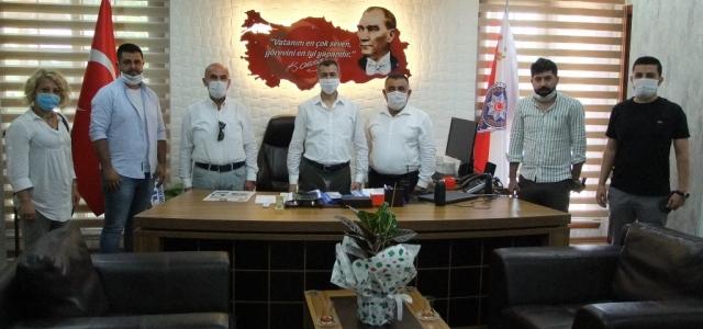 ARİAD' tan Emniyet Müdürü Kalkan'a Hayırlı Olsun Ziyareti