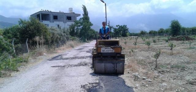 Arsuz Belediyesi Fen İşleri Hız Kesmiyor
