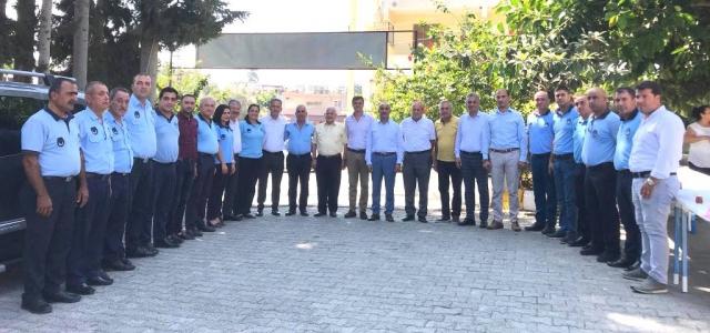 Arsuz Belediyesi'nde 'Zabıta Haftası' Kutlandı
