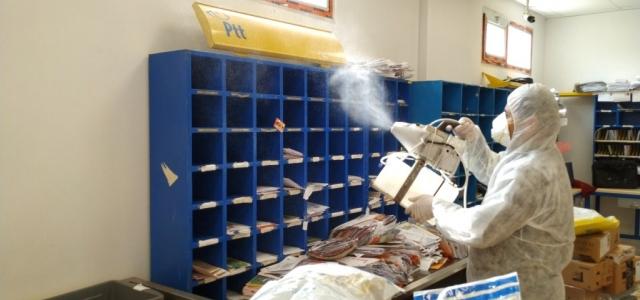Arsuz 'da Dezenfeksiyon Çalışmaları Sürüyor