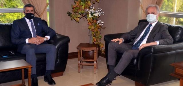 Arsuz Emniyet Müdürü Kalkan'dan İTSO'ya Ziyaret