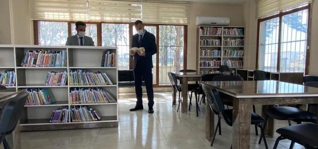 Arsuz Kütüphanesi Okur Severleri Bekliyor
