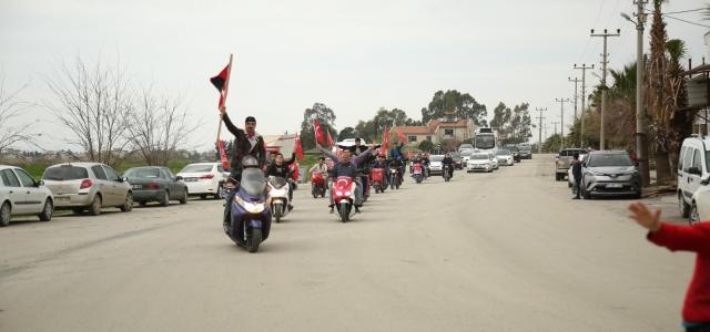 Arsuz'da 31 Mart Provası