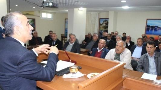 Arsuz'da Başkan Culha, Muhtarları Dinledi