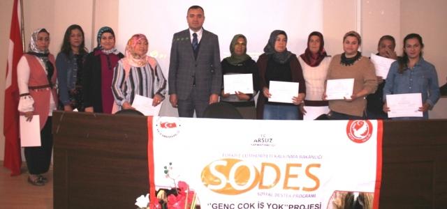 Arsuz'da 'Genç Çok İş Yok Projesi' Toplantısı