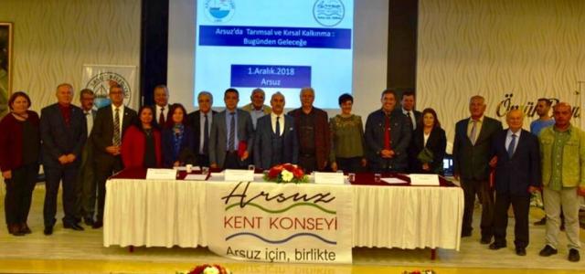 Arsuz'da İlk 'Tarım Çalıştayı'na Yoğun İlgi