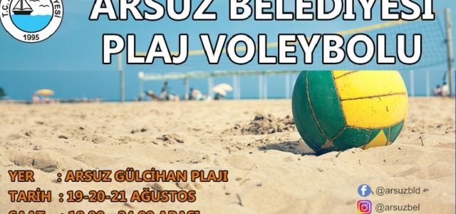"""Arsuz'da 'Plaj Sporları"""" Start Alıyor"""