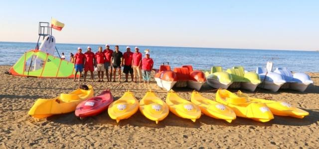 Arsuz'da Tatilcilere Su Sporları Kursu