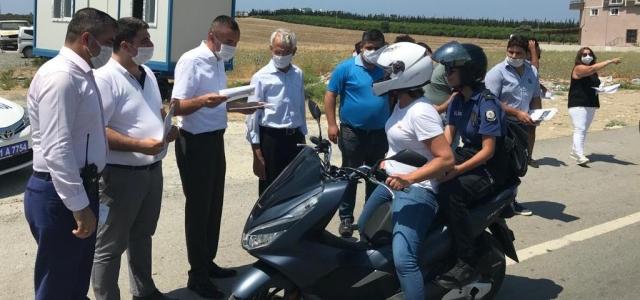 Arsuz'da Trafik Etkinliği