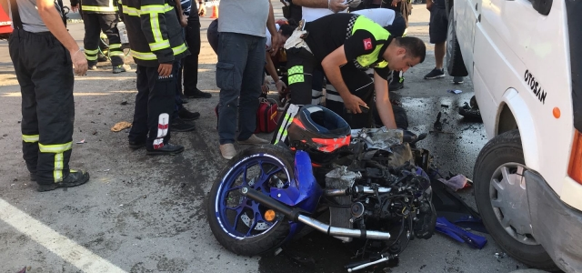 Arsuz'da trafik kazası: 1 ölü