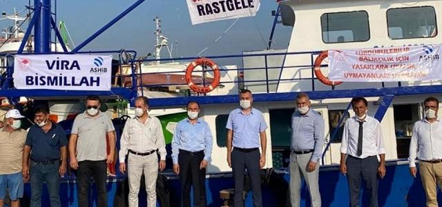 Arsuzlu Balıkçılar 'Vira Bismillah' dedi