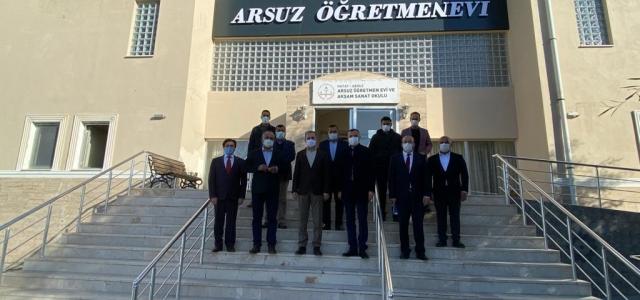 Arsuz'un En Güzel Manzaralı Kafesi Öğretmenevine Yapılıyor