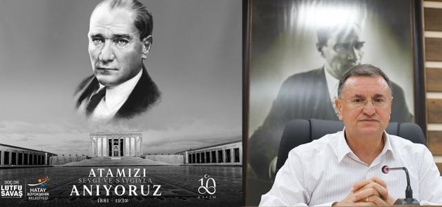 'Atatürk, Fikir ve Eserleriyle Ölümsüzdür'