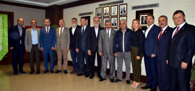 ATSİAD Yönetiminden İTSO Yönetimine Ziyaret