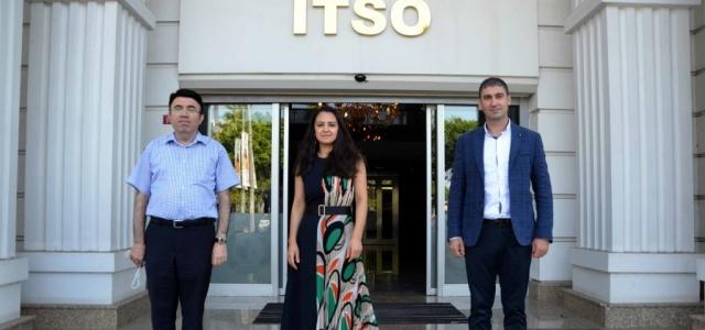 ATSO Genel Sekreterinden İTSO'ya Ziyaret