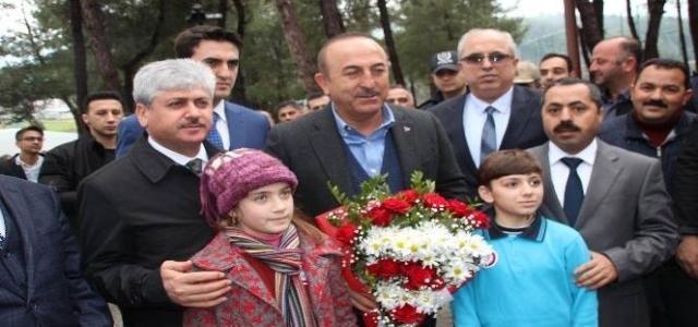 Bakan Çavuşoğlu; Fırat'ın Doğusundaki Teröristleri Temizleyeceğiz