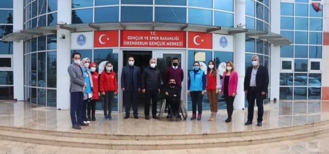 Bakanlık'tan Gençlik Merkezine Ziyaret