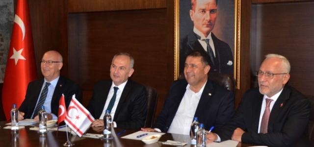 Başbakan Ersan Saner'den İTSO'ya Ziyaret