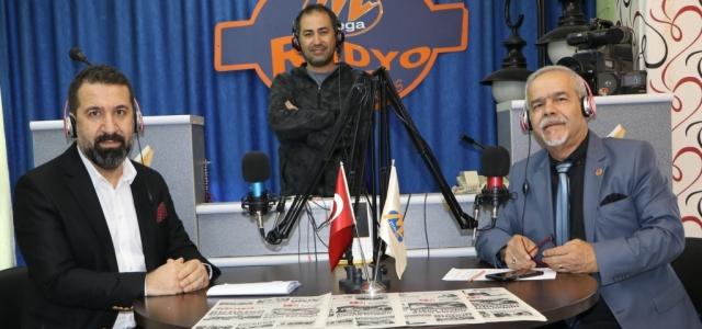 Başhekim Turhan, MEGA Radyo'ya Konuk Oldu