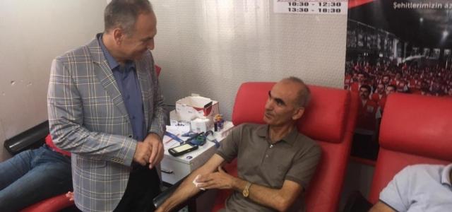 Basın'dan 'Barış Pınarı Harekatı'na Kan Bağışı