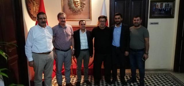 Başkan A. Adayı Uğur Feriz'den İGC'ye Ziyaret