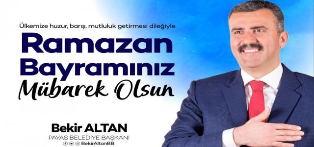 Başkan Altan'dan Ramazan Bayramı Mesajı