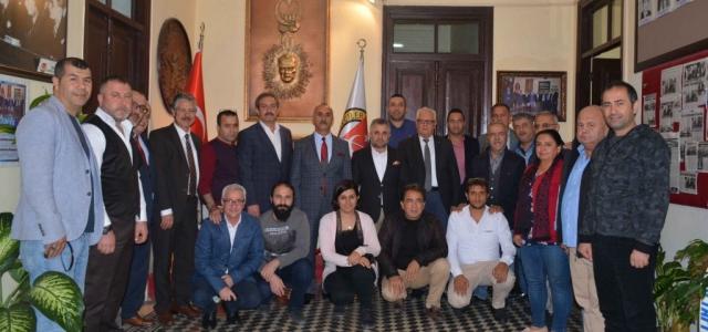 Başkan Culha'dan İGC'ye Ziyaret