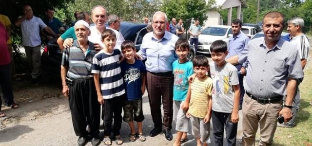 Başkan Fatih Tosyalı Azganlık'ta