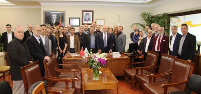 Başkan Fatih Tosyalı'ya Tebrik Ziyaretleri Devam Ediyor