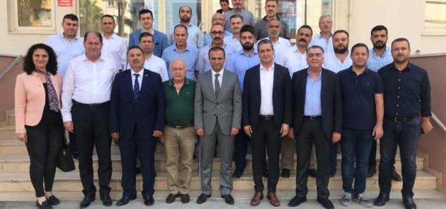 Başkan Gül ve MHP Heyetinden Emniyet Müdürü Güneş'e Ziyaret