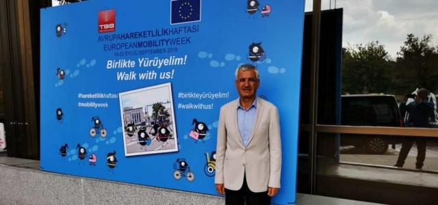 Başkan Güven, Avrupa Hareketlilik Haftası Tanıtım Toplantısına Katıldı