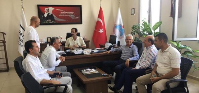 Başkan Güven'den, Arsuz için Kurumlara Ziyaret