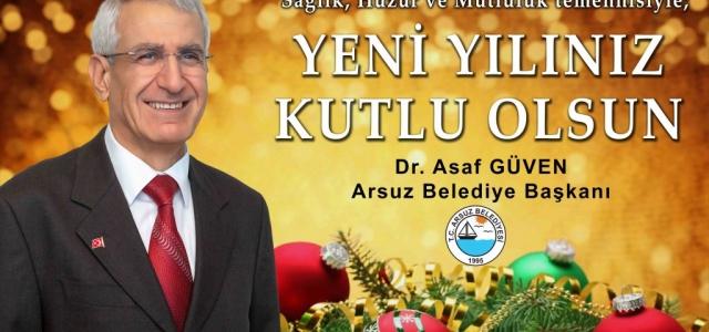 Başkan Güven'den Yeni Yıl Mesajı
